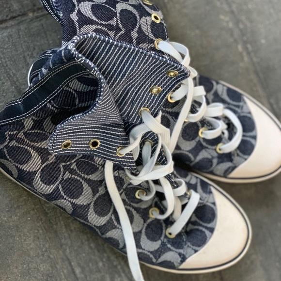 Coach Shoes - Coach Hightower sneakers🥰